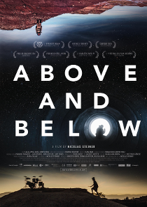 ABOVE AND BELOW plakat