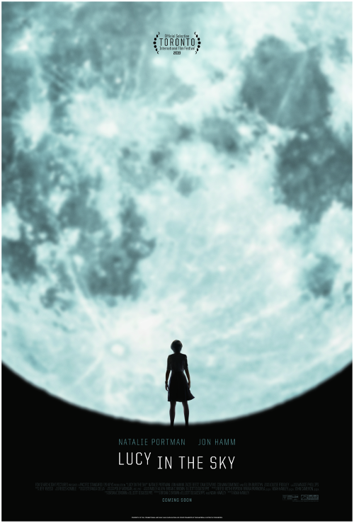 LUCY IN THE SKY  filmplakat
